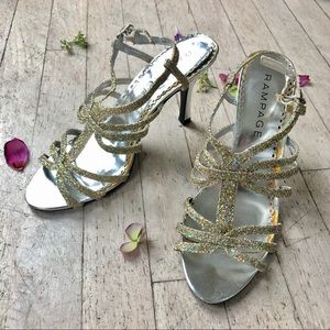 Sparkly Rampage heels